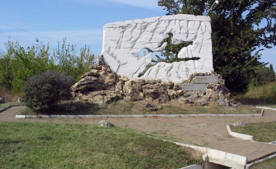 указатель памятник Алиму