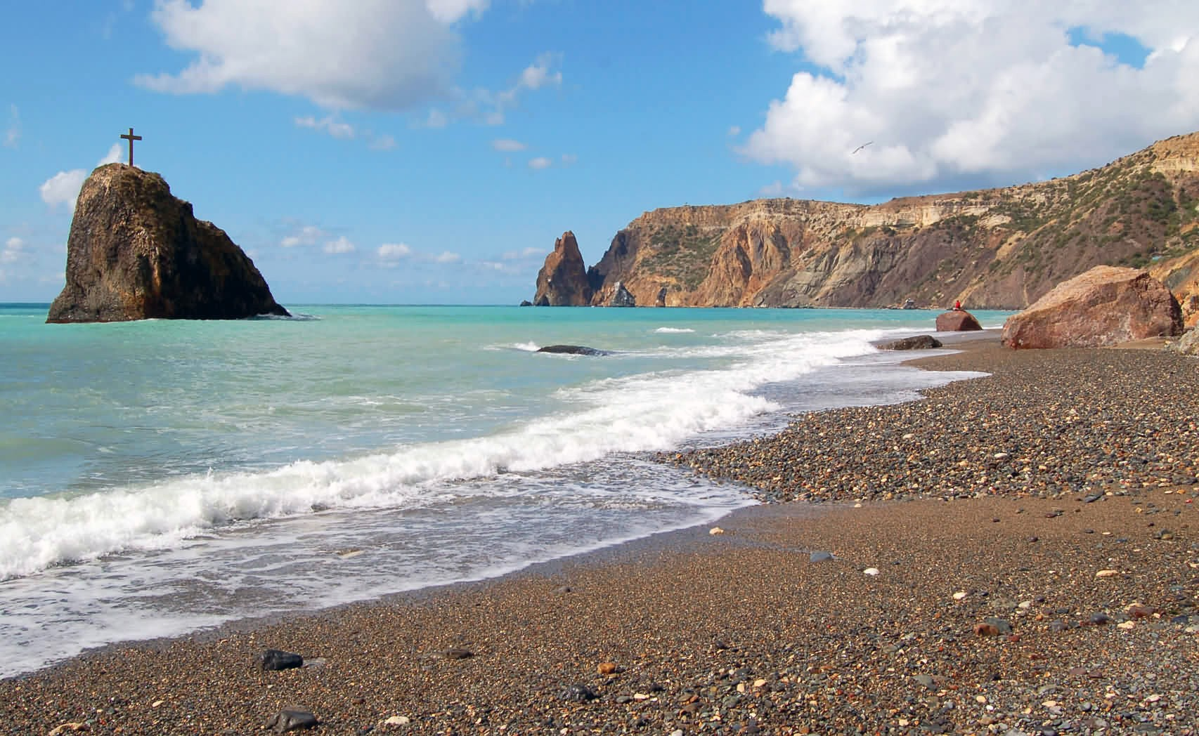 пляжи фиолента