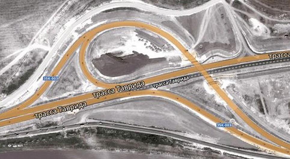 Белогорско-Симферопольская развязка