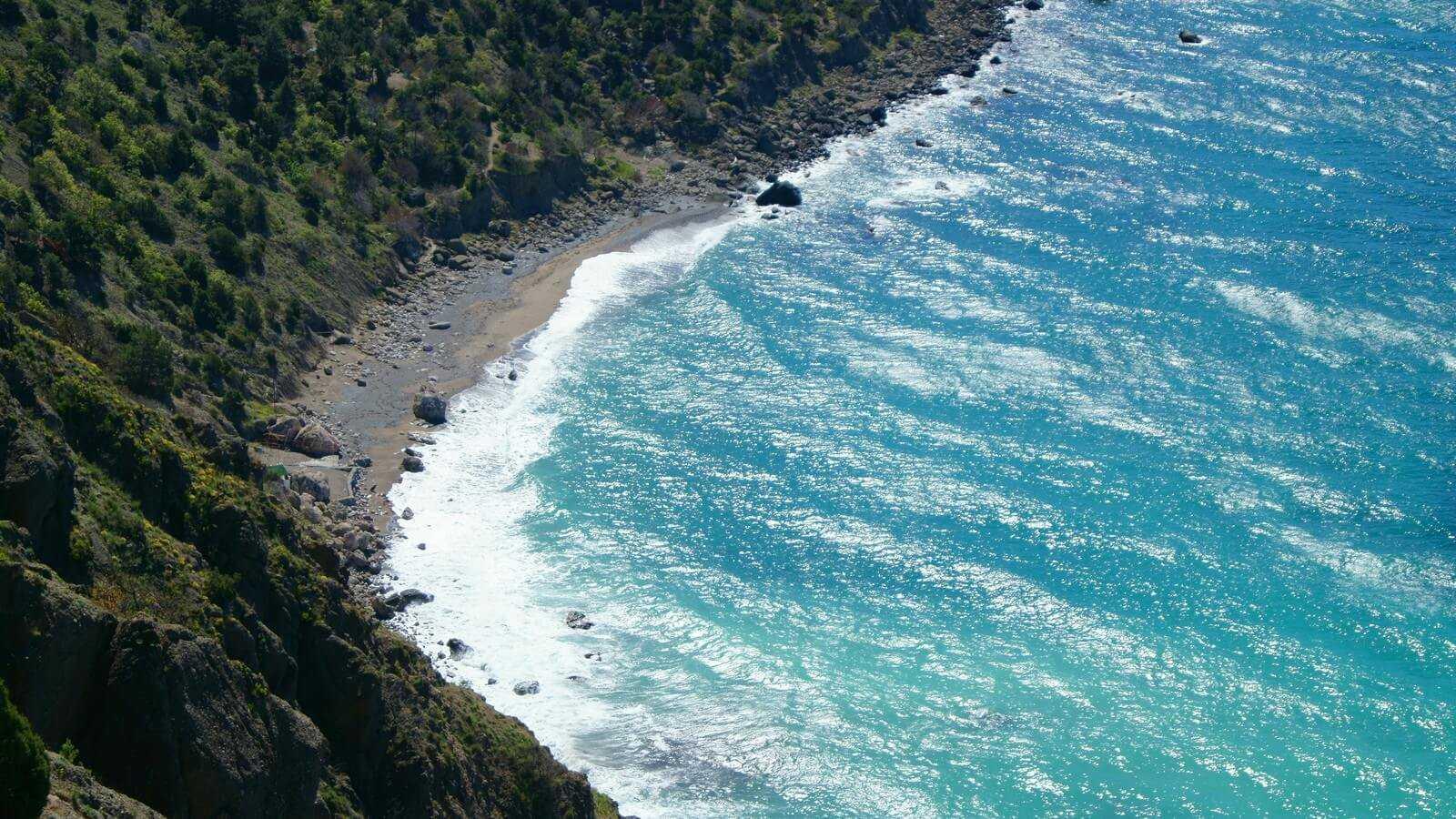 Серебряный пляж